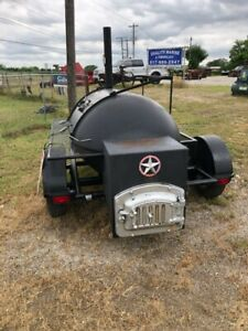 Custom Bbq Smoker Grill Trailer