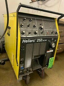 Esab Heliarc 252 Ac dc Power Supply