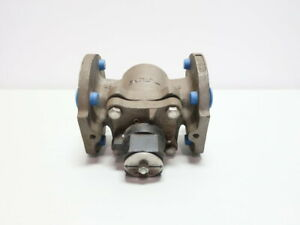Tufline 067 Manual 150 Stainless Flanged 2in Plug Valve