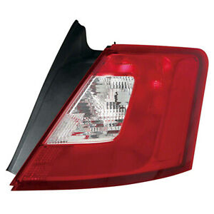 Fo2819149c Tail Lamp Passenger Side Fits 2010 2012 Ford Taurus