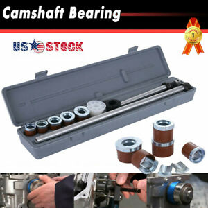 Universal Engine Camshaft Cam Bearing Installation Removal Tool Kit 1 125 2 69