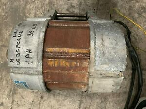 Front Load Washer Motor Speed Queen Huebch Unimac 35lb 1ph P n F220111 used