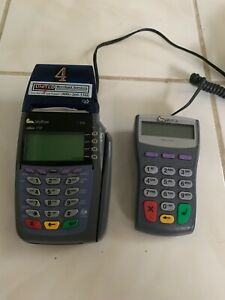 Verifone Vx510 Omni 3730 Credit Card Scanner With Pin Pad