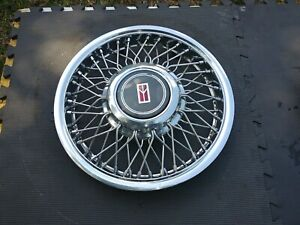 14 Oldsmobile Ciera Factory Wire Spoke Hubcaps Wheelcovers 4 87 93 Great Used