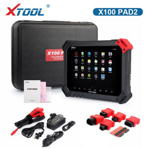 Xtool X100 Pad2 Auto Programmer With Epb Eps Tpms Obd2 Odometer Miles Change