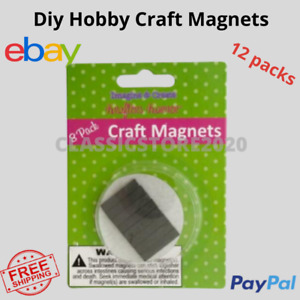 Diy Hobby Craft Magnets Strong Rare Magnet Crafts Thick Flat School Block Art