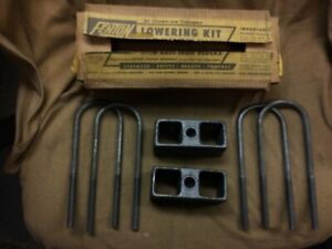 1950 S Nos Fenton Rear Lowering Block Kit Lk8 3 1939 1950 Studebaker Champion 2