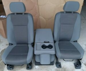 Ford Super Duty F250 550 Bucket Seats And Jumpseat New Style Takeout Condition