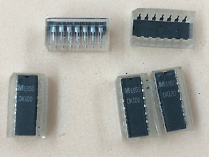 Dk100 Integrated Circuit Vintage 1969 Date Code 14 Pin Lot Of One