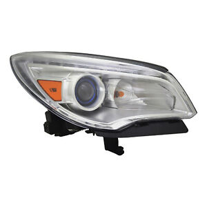 Gm2503382 New Replacement Passenger Headlight Assembly Fits 2013 2017 Enclave