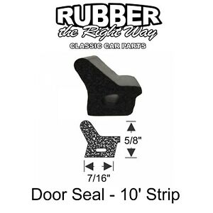 1961 1962 1963 Lincoln Continental Door Seal Enough For All 4 Doors