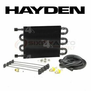 Hayden 512 Automatic Transmission Oil Cooler Radiator Cooling On