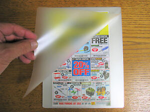 3 Mil Laminating Laminator Pouches 9 X 11 1 2 Letter Size Virus Protection