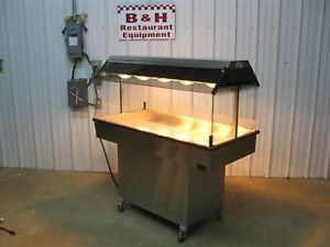 Royston 51 Hen House Chicken Hot Food Merchandiser Heated Display Case Warmer