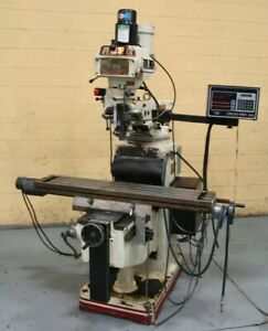 3 Hp Acer Vertical Cnc Mill With Prototrak Plus Control Yoder 63976