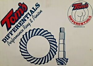 Tom s Differential Ring Pinion Gear Gm 12 Bolt Truck 4 11