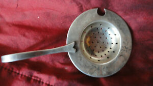 Russian Silver 84 Tea Strainer 45 6 G 3 In D