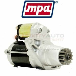 Mpa Starter Motor For 2004 2015 Toyota Sienna Electrical Charging Starting Xd