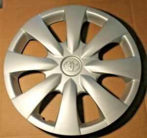 Toyota Corolla 2009 To 2013 Hubcap One Original 15 Factory Chrome Emblem