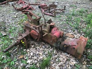 Ih Farmall H Rear End Transmission Good One From Running Tractor