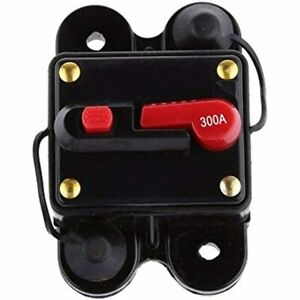 Circuit Breaker 300amp With Manual Reset Home Solar System Fuse Holder For Car
