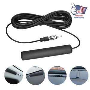 Universal Car Radio Stereo Hidden Antenna Stealth Fm Am Truck Motorcycle Boat Us
