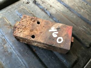 Ih Farmall 460 Check Valve Assembly