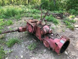 Ih Farmall 460 Rear End Transmission Ta With Belt Drive Assembly