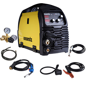 160a Inverter Welder Mig mag mma tig 110v 220v Arc Welding Machine 10ft Cable