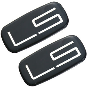 2pcs Ls Emblem Badge Sticker Decal Compatible For 99 07 Silverado Suburban