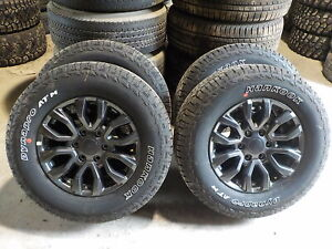 4 2020 Ford Ranger Factory 17 Charcoal Alloy Wheels Tires 323c Oe 6 Lug