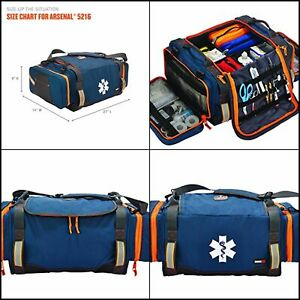 Ergodyne Arsenal 5216 First Responder Trauma Supply Jump Bag For Ems Police