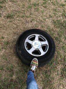 Trailblazer Cooper Tires And 16 Rims Set Of 4 With All Hubcaps Included