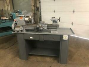 Used 10k South Bend Lathe 3 1 2 Foot Bed