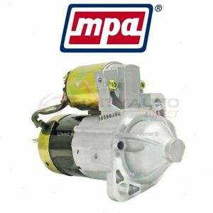 Mpa Starter Motor For 2000 2005 Mitsubishi Eclipse Electrical Charging Tx