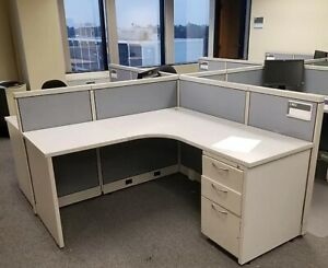 Used Office Cubicles Steelcase Avenir 6x6 Cubicles