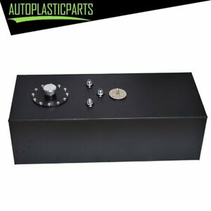15 Gallon Top feed Race Drift Aluminum Fuel Cell Tank With Level Sender