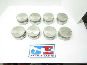 Je Domed Pistons 4 125 Bore 18 Degree Sbc