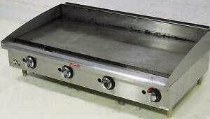 Used Star 648f Star max Countertop 48in Manual Gas Griddle Lp