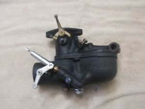 Model A Ford Zenith 2 Carburetor Original By Holley Restored Road Tested g
