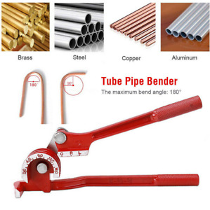 Details About Tubing Pipe Bender 1 4 5 16 3 8 Tube Aluminum Copper Steel Br