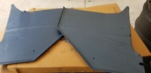Nos Oem Ford 1965 1966 Mustang Kick Panels Shelby Gt350 Blue Coupe Fastback