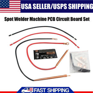 12v Portable Battery Energy Storage Spot Welder Machine Pcb Circuit Board Usa