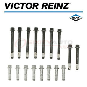 Victor Reinz Cylinder Head Bolt Set For 1976 1987 Pontiac Grand Prix 5 0l Wf