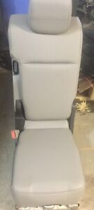 Ford Truck Jump Seat Console Grey Leather Hc3a 9660020 Be