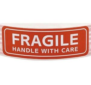 Fragile Stickers 100 Pack