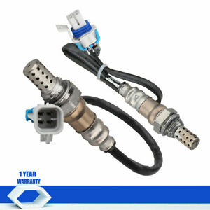 2pcs Upstream Downstream O2 Oxygen Sensor For 05 07 Chevrolet Equinox Uplander