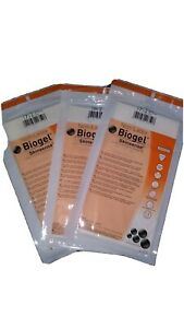 Biogel Surgical Gloves Non Latex Mixed Size lot Of 50