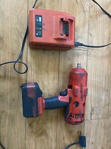 Snap On Ct8850 1 2 Impact Wrench With 18v Battery Charger Used Works Great