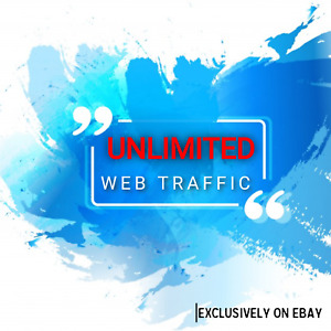 Unlimited Real High Qulity Website Traffic For One Month